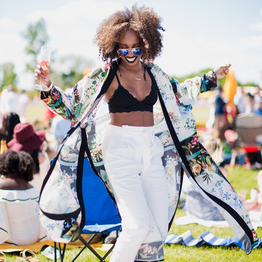 Street Style at the 10th Annual Veuve Clicquot Polo Classic Was On Another Level of Fly