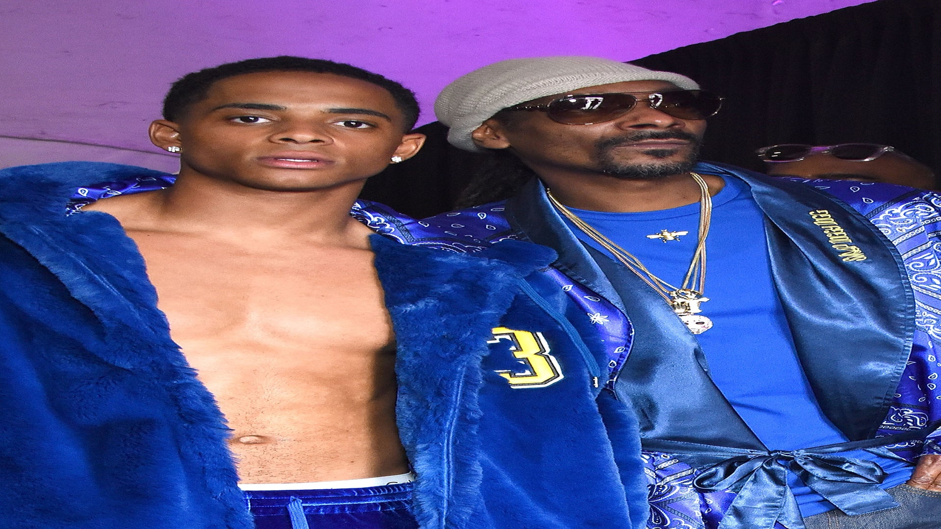 ICYMI: Snoop Dogg and Son Cordell Present Fashion Show During MADE LA and It's So California