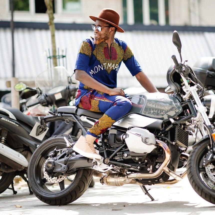 Dapper Dudes Take Over Paris During Men's Fashion Week