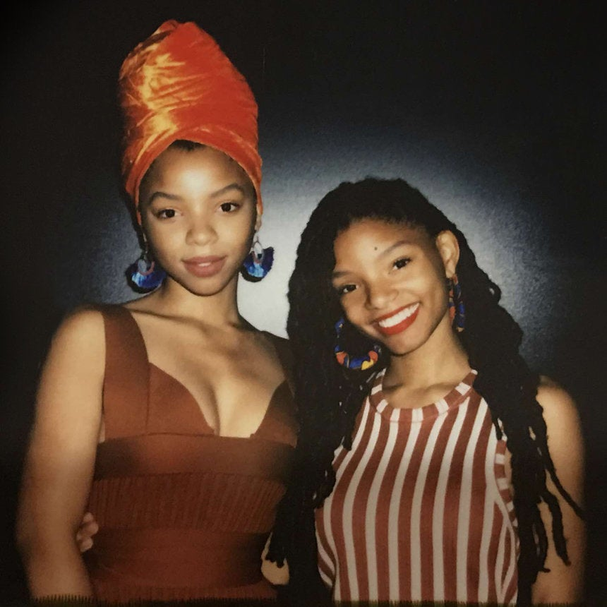 Chloe & Halle Are Headwrap Goals At ESSENCE Fest 2017