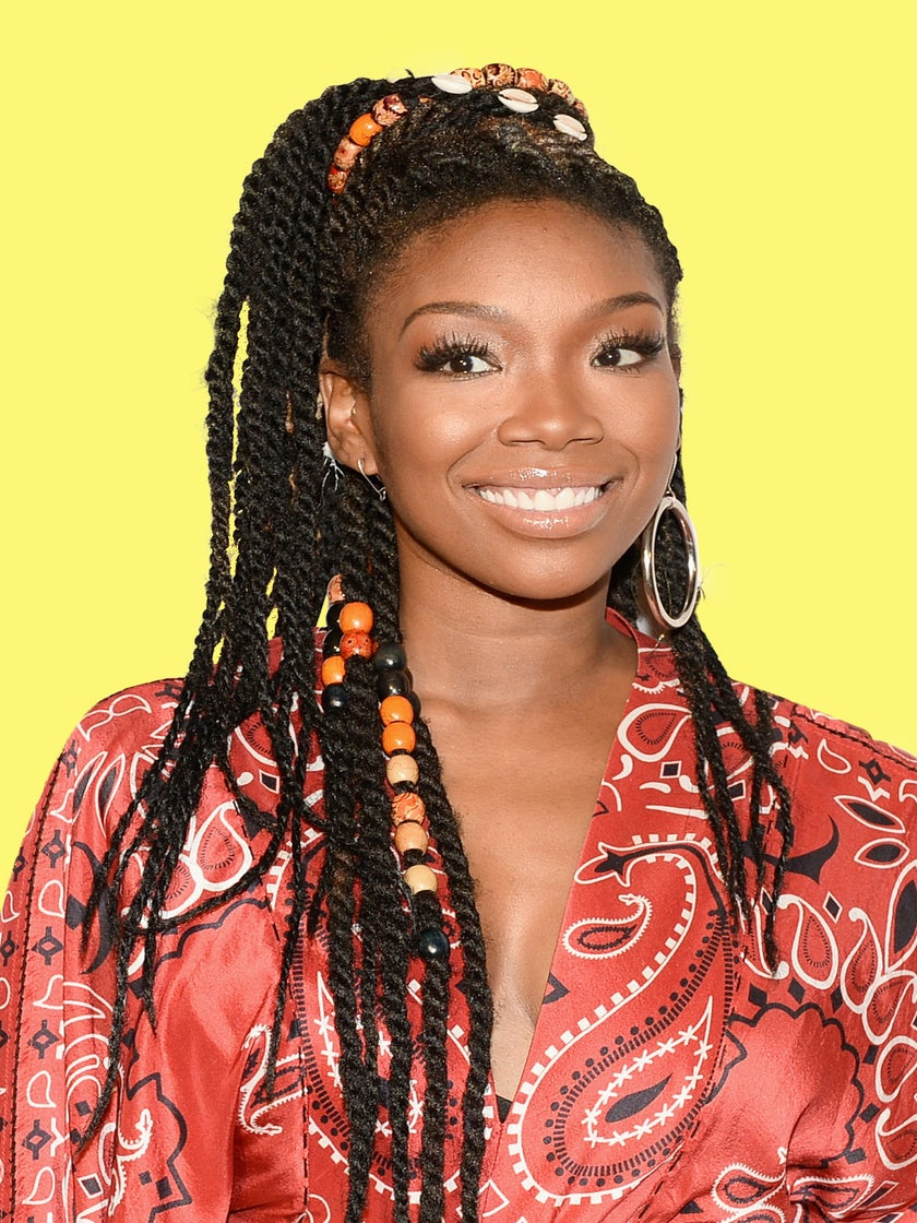 Brandy Denies Being Pregnant, 'I Went On A Foodcation'