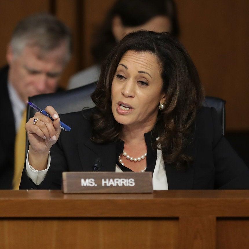 Male Senators Repeatedly Tried To Silence Kamala Harris At A Hearing But She Kept Going