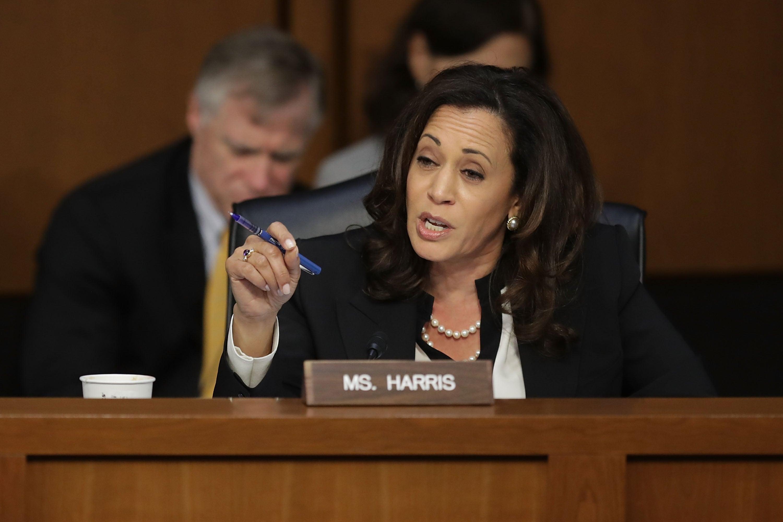 California Sen. Kamala Harris Stands Behind Brett Kavanaugh Accuser