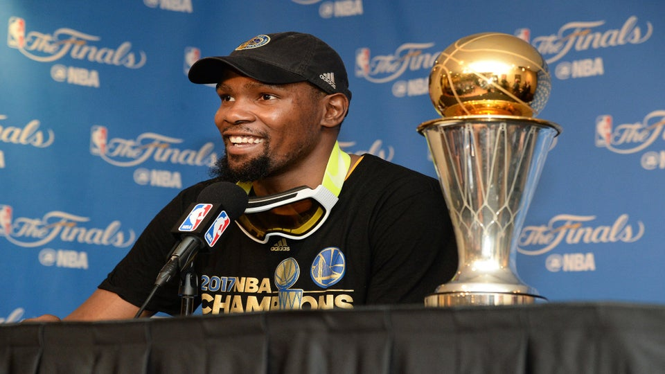 Kevin Durant Says No To White House Visit: 'I Don't Respect Who's In Office'