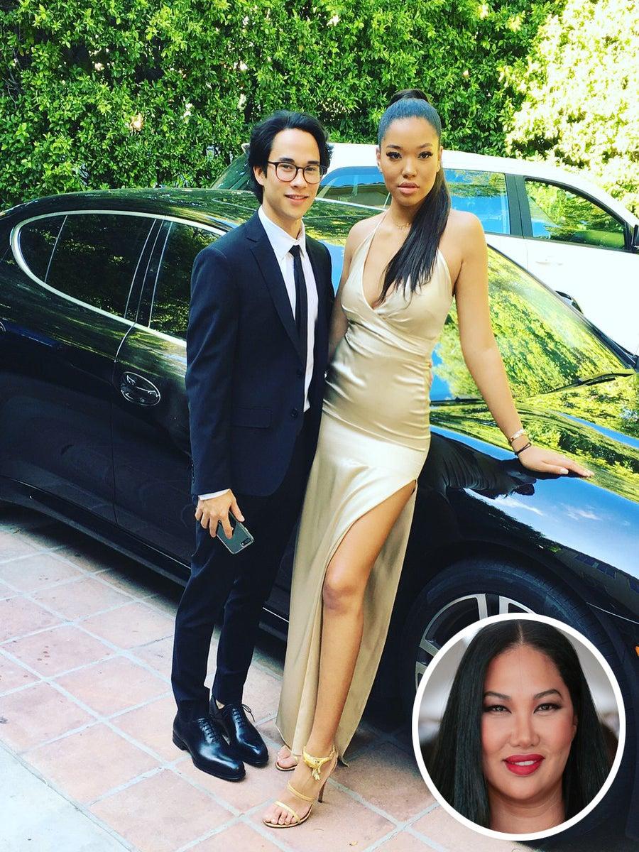 Kimora Lee Simmons Designed Her Daughter's Prom Dress