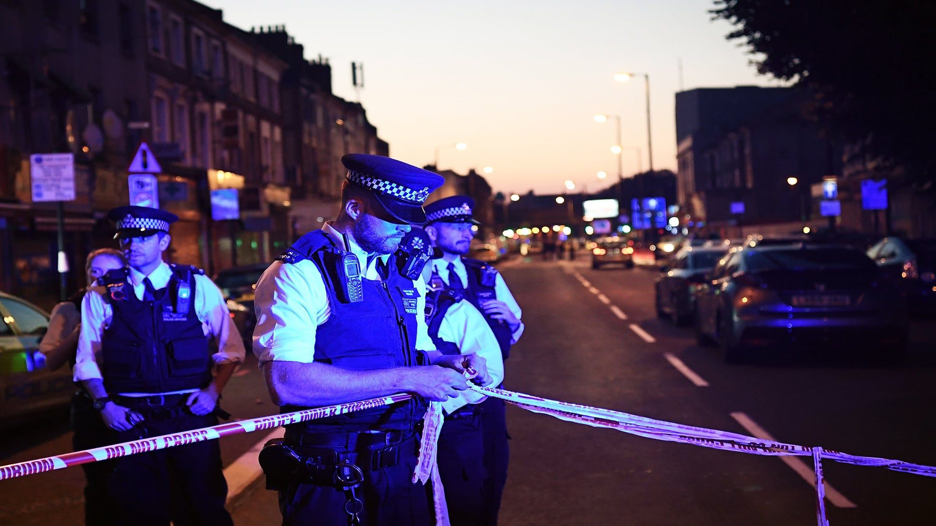 Man Plows Van Into Crowd By London Mosque, Injuring 10