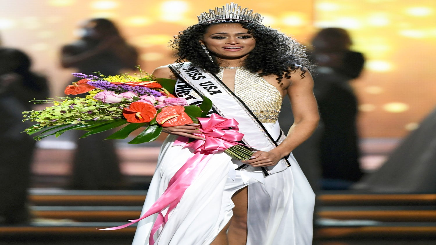 Miss USA Kara McCullough Dishes On The Moment She Almost Didn't Compete In Curly Hair