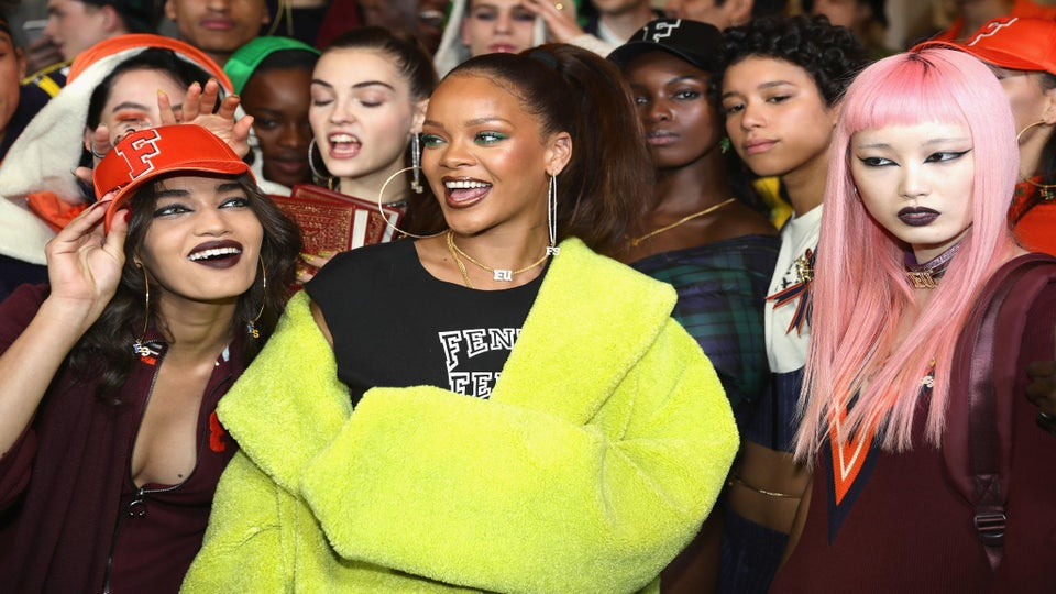 Rihanna's newest Fenty x Puma sneakers just dropped, and they're fresh