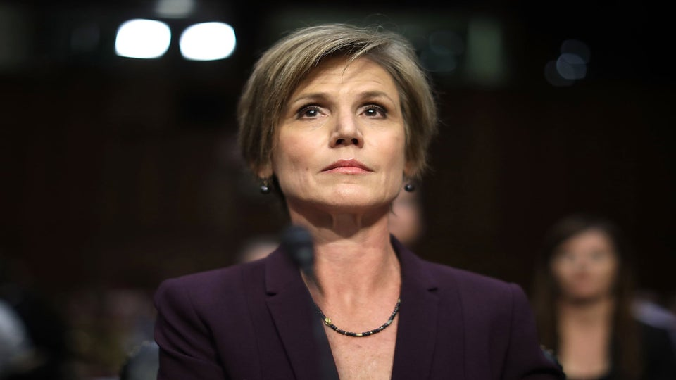 Sally Yates Condemns Jeff Sessions For Reinstating Harsh Low-Level Drug Sentences