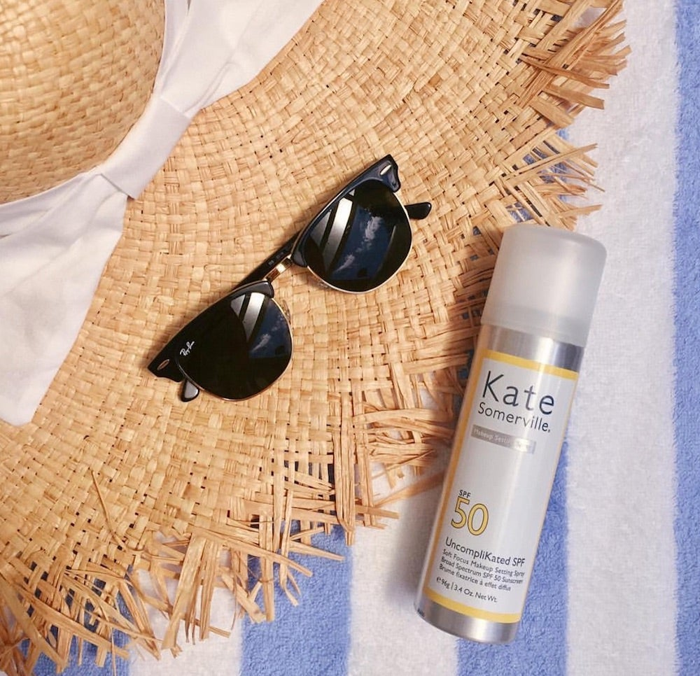Protect Your Skin From The Sun With These Makeup Setting Sprays That Are Infused With SPF