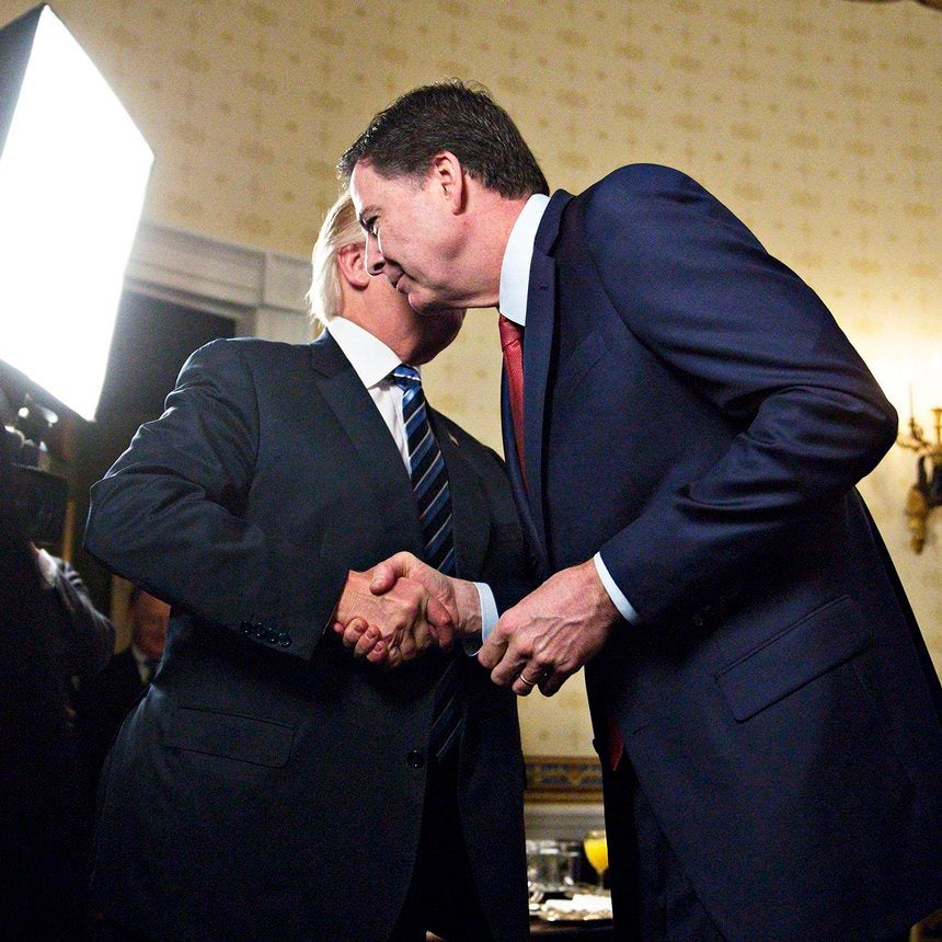 Poll: 61% Of Americans Think President Trump Fired James Comey To Protect Himself
