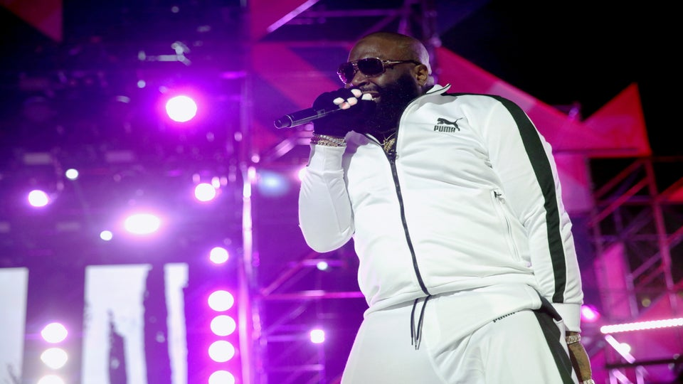 Rick Ross Doesn't Sign Female Rappers Because He Has A Problem Keeping It in His Pants