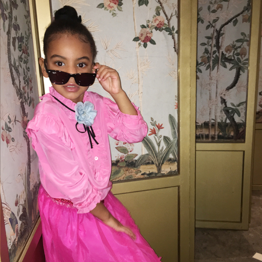 Blue Ivy Carter Is A Style Queen