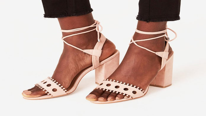 Block Heel Sandals That You Can Actually Stand In All Day
