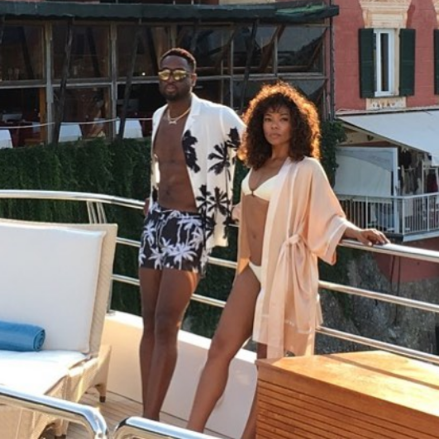 Gabrielle Union And Dwyane Wade Do It Big In Greece To Celebrate Their Anniversary