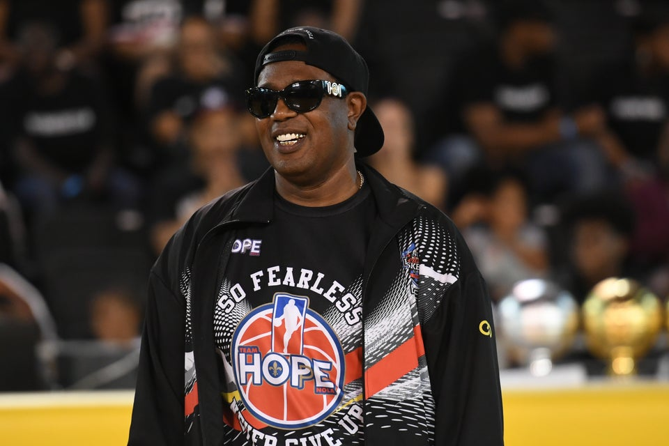 Master P Honors Slain 7-Year-Old At Celebrity Basketball Game