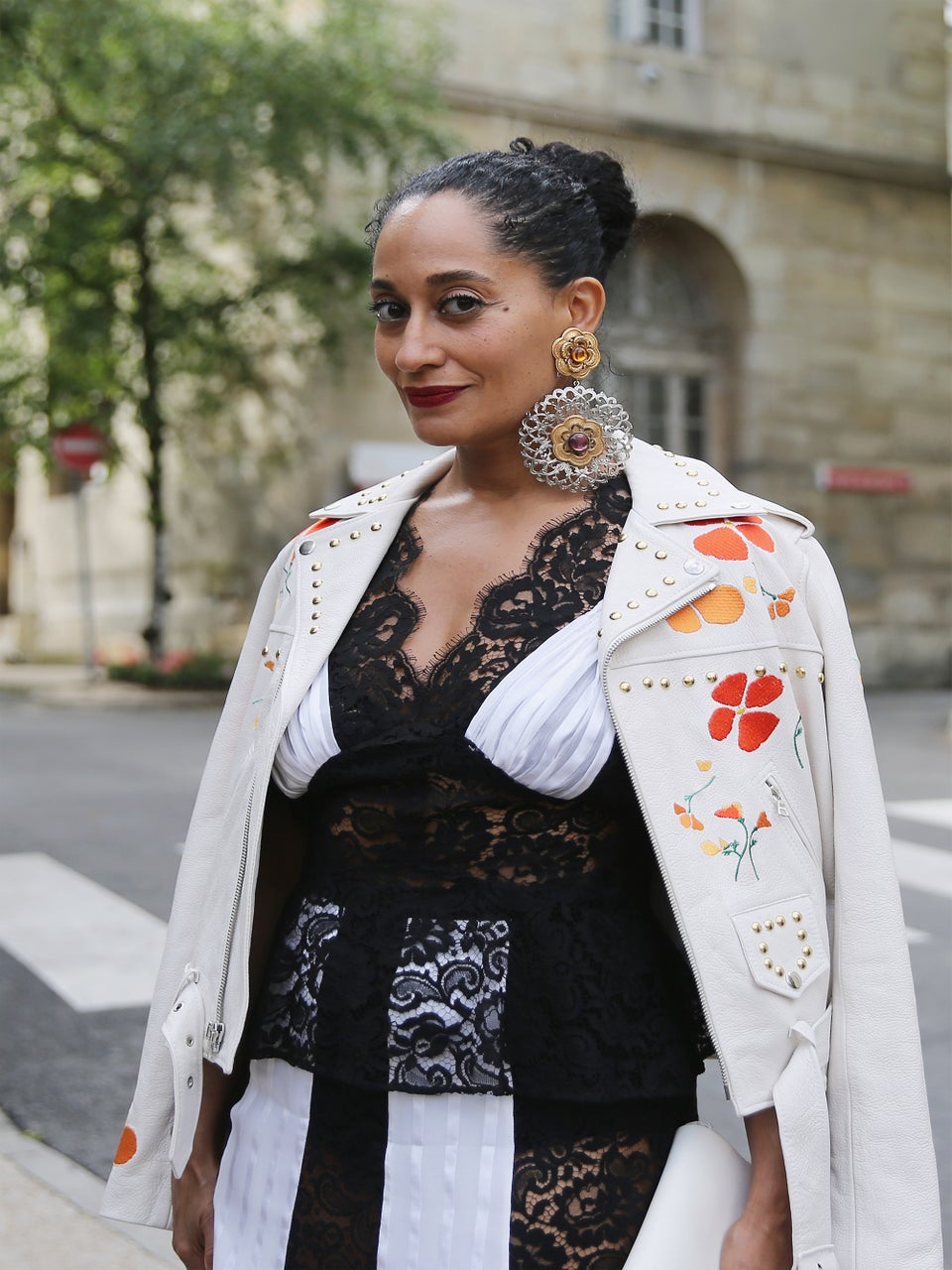 Tracee Ellis Ross, Jourdan Dunn and More Serve Haute Looks During Couture Fashion Week