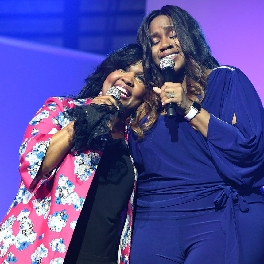 Kelly Price Joins CeCe Winans To Honor Cissy &Whitney Houston With Moving Performance Of 'Count On Me'