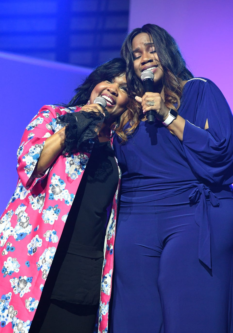 Kelly Price Joins CeCe Winans To Honor Cissy And Whitney Houston With Moving Performance Of 'Count On Me'