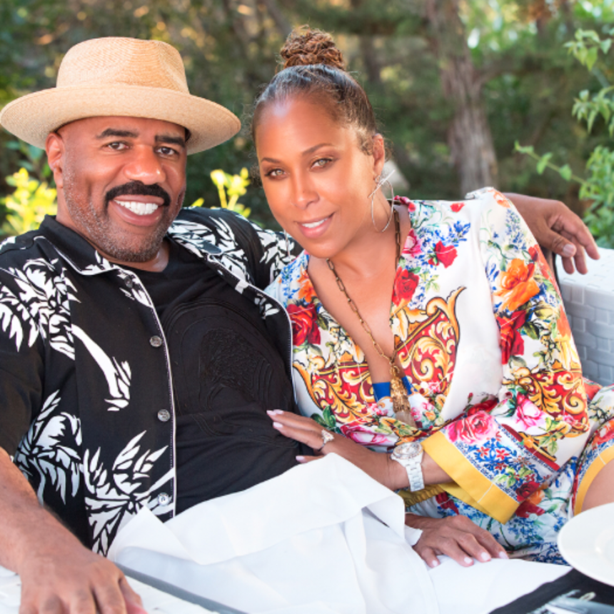 Steve and Marjorie Harvey Are Off On Another Incredible Baecation