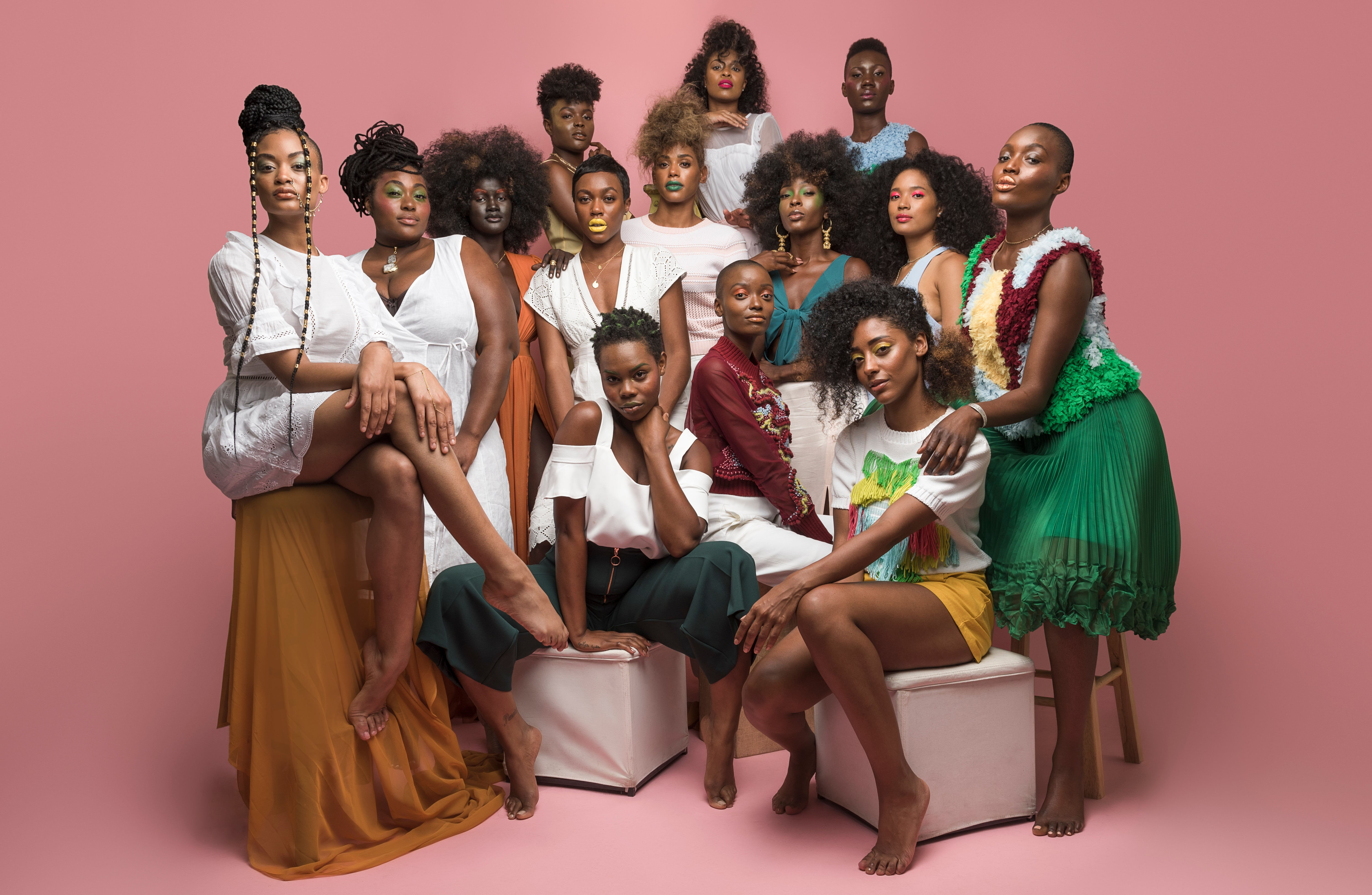 The Colored Girl Features Nubian Skin and Chiki Miki in 'FULL BLOOM' Campaign