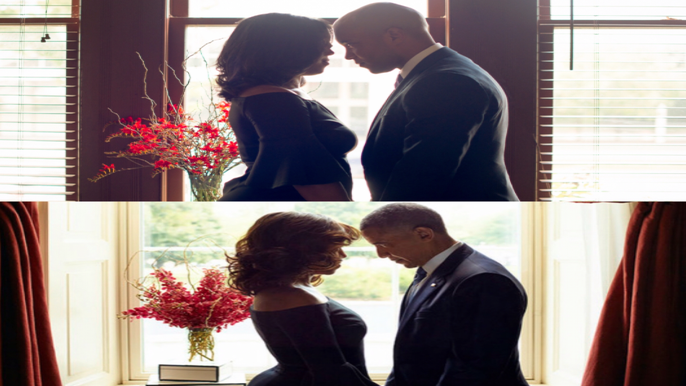 This Couple Misses the Obamas So Much, They Posed Like Them For Their Engagement Shoot