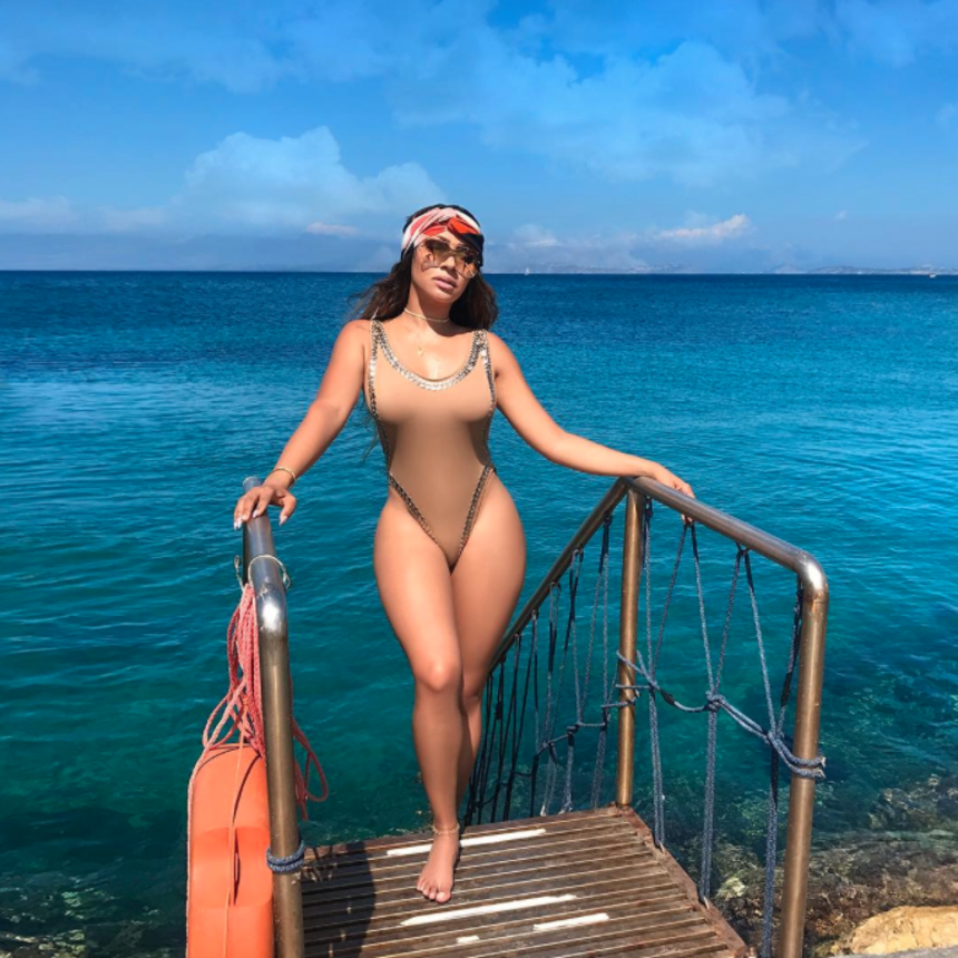 Yaass! La La Is Serving Summer Body Glow Up Goals On Vacation