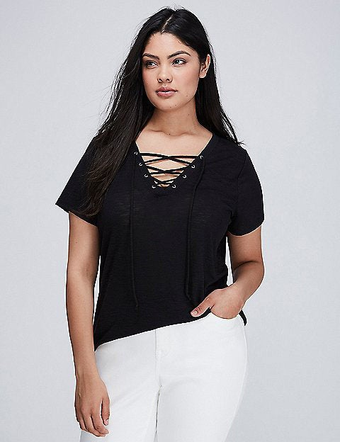 6c46ed03de7 The Best Tops From Lane Bryant s Buy One Get One Free Sale