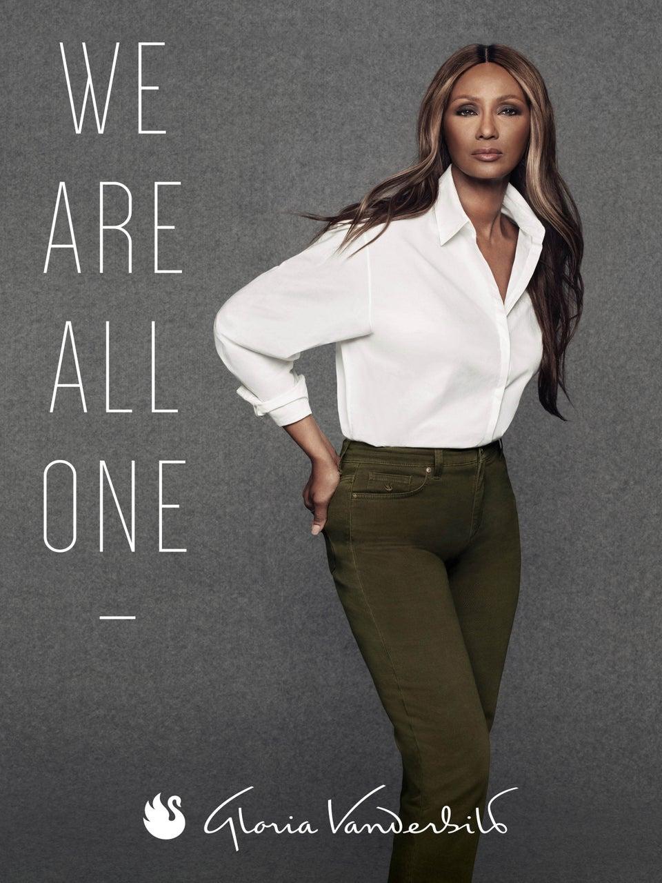 Iman Stars in Gloria Vanderbilt's 'We Are One' Campaign Celebrating Womanhood