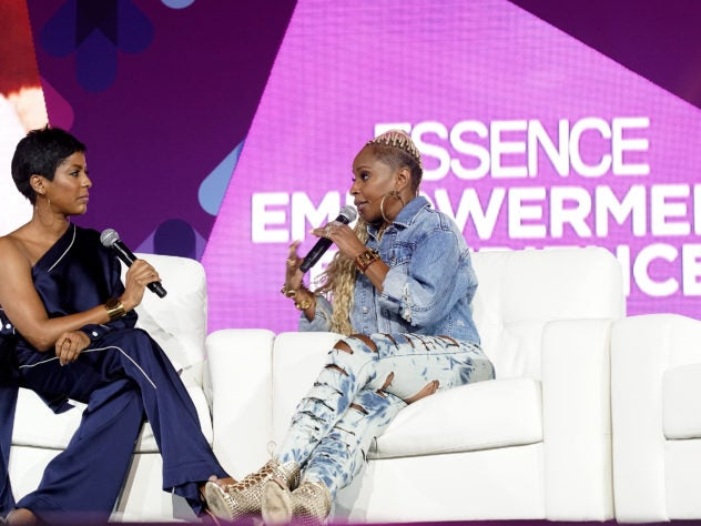 Mary J. Blige Reveals to Tamron Hall How Her New 'Strength Of A Woman' Album Saved Her Life