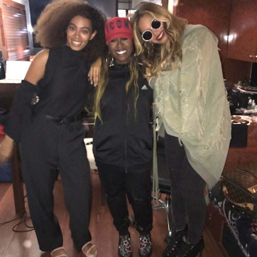 Work It! Beyoncé Steps Out with Solange to Attend Missy Elliott Concert