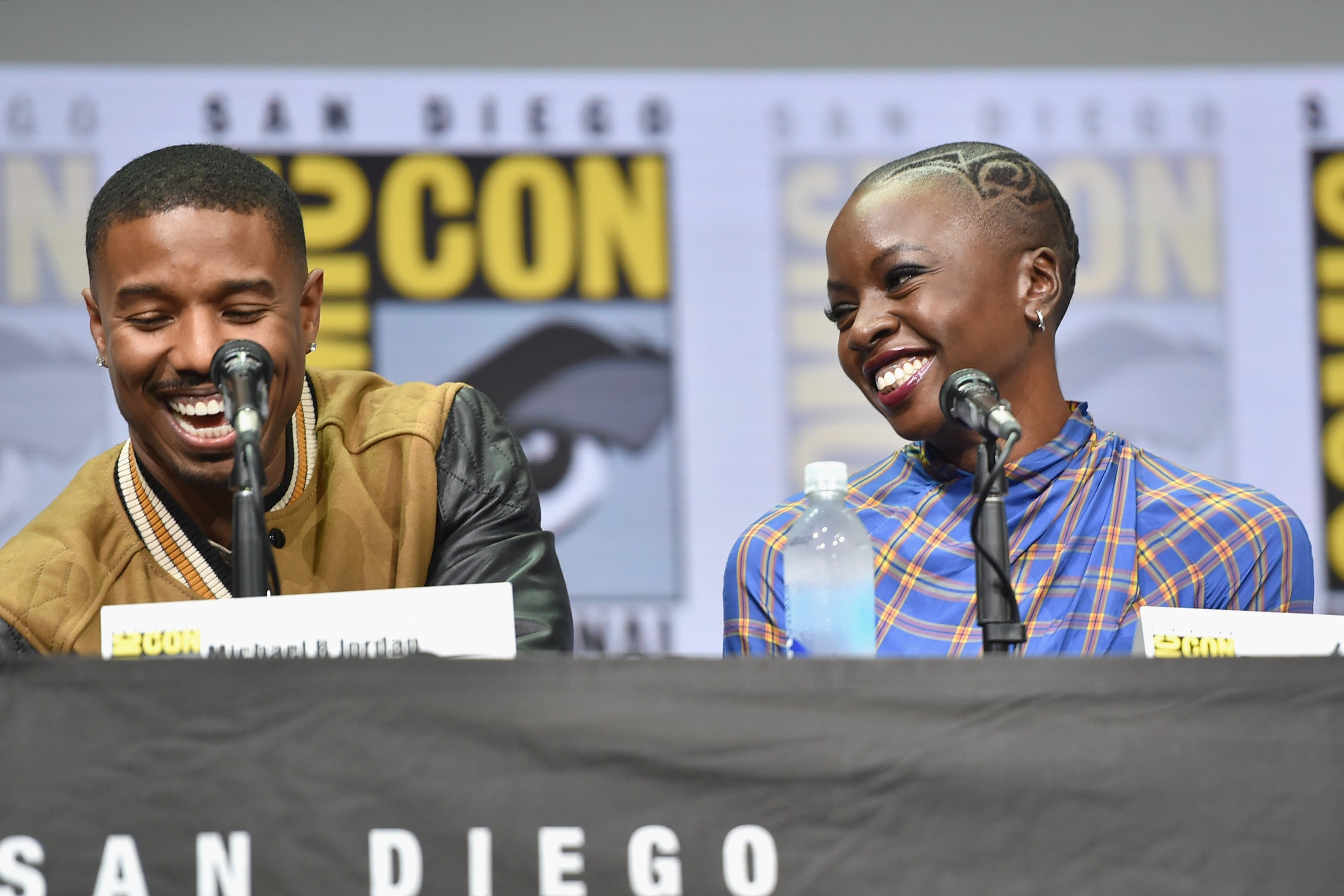 Here's What Happened In The Emotional Preview Of 'Black Panther' At Comic Con
