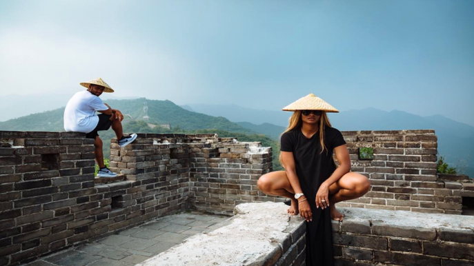 Ciara And Russell Wilson Are On Vacation In Beijing and Their Photos Are Super Cute