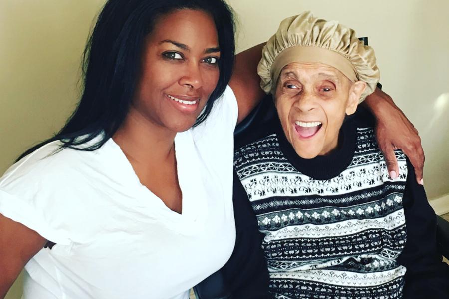 Kenya Moore's Grandmother Passes Away - Essence