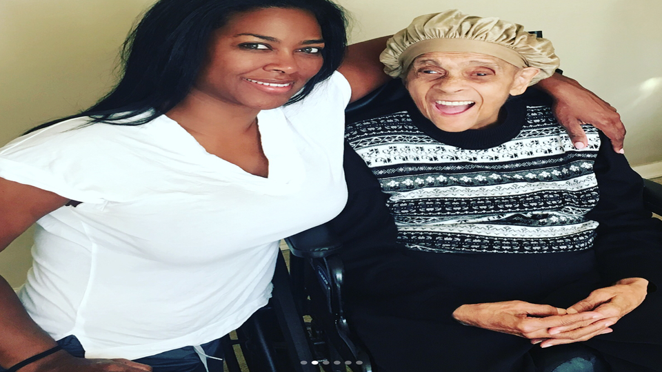Kenya Moore Honors Her Grandmother After She Loses Her Battle With Alzheimer's