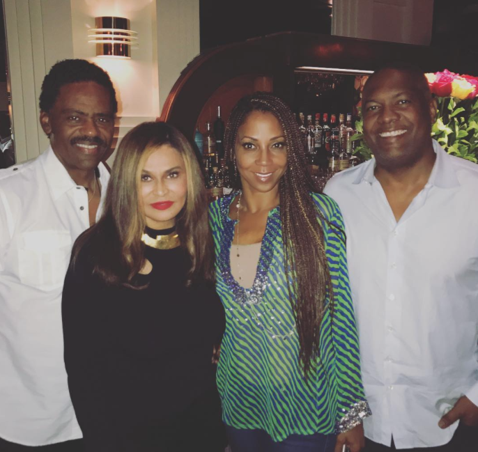 Tina Knowles-Lawson and Holly Robinson-Peete Double Date With Their Husbands