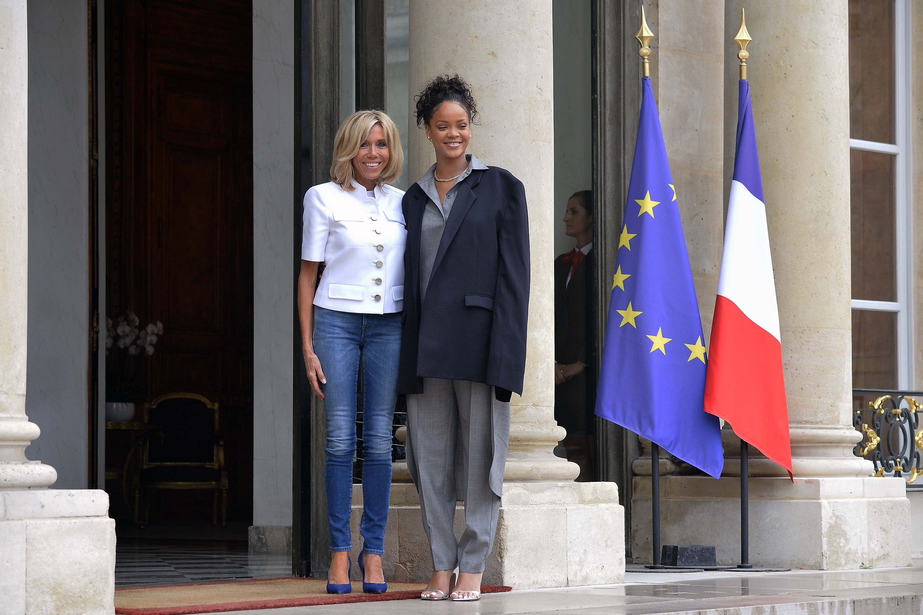 Work:Rihanna Got Four Top Political Leaders To Support Education Initiative