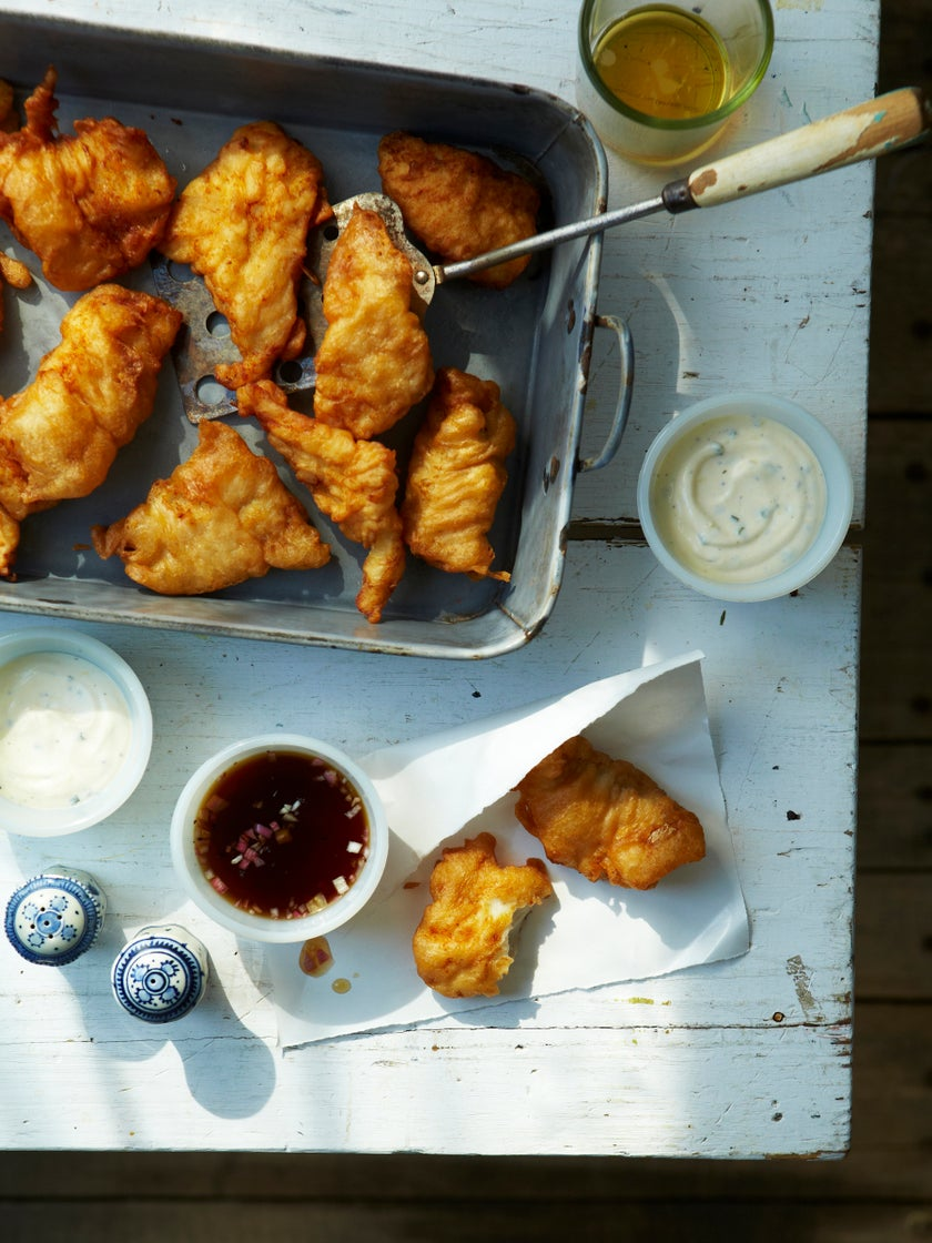 The Surprising Dish You Should Always Pair With Fried Fish at the BBQ