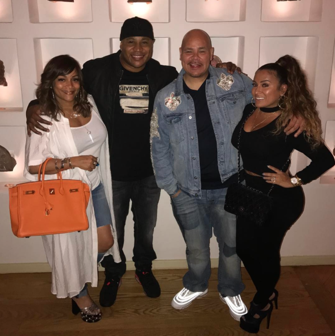 Aww! LL Cool J And Fat Joe Love to Double Date With Their Wives