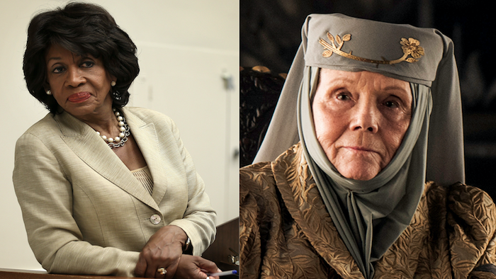 Maxine Waters And 'Game Of Thrones' Fan Favorite Lady Tyrell Are Basically The Same Person