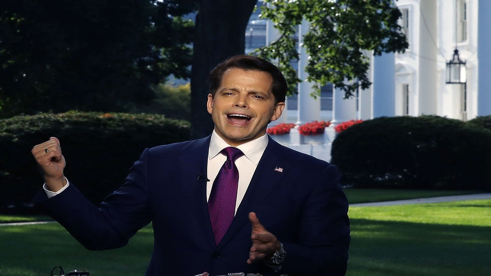 Anthony Scaramucci Is No Longer The White House Communications Director