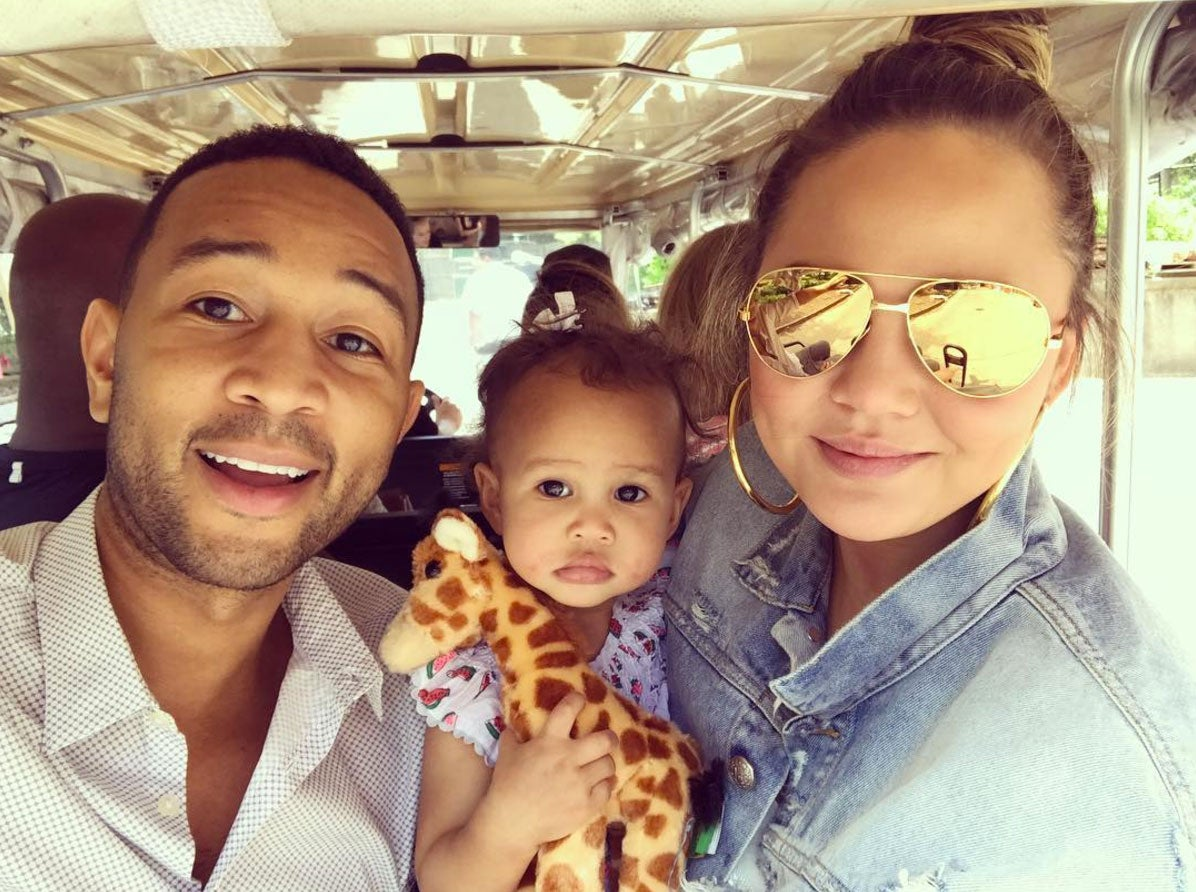 Chrissy Teigen Wants Internet Users to Stop Sending Her Photos of Babies Who Look Like John Legend