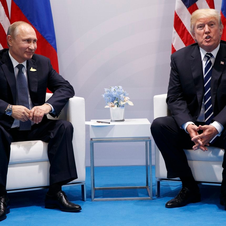 President Trump Confronted Vladimir Putin About Election Meddling