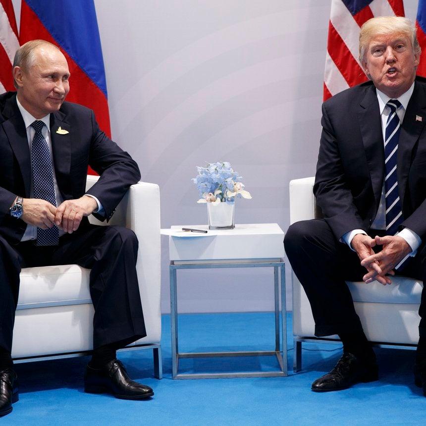 President Trump Confronted Vladimir Putin About Election Meddling