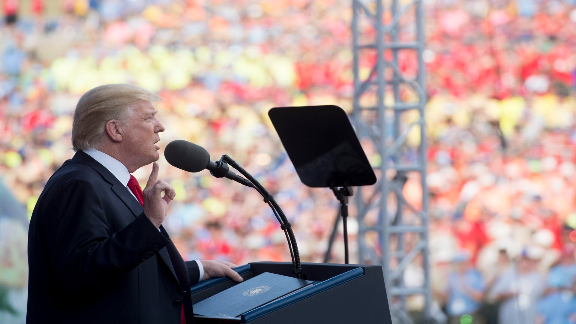 Current And Former Boy Scouts React To President Trump's Jamboree Speech