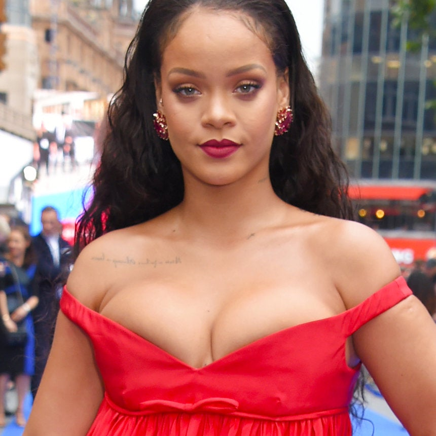 In 'Duh'News, Rihanna Styled a Bathing Suit Coverup With Fur and Diamonds