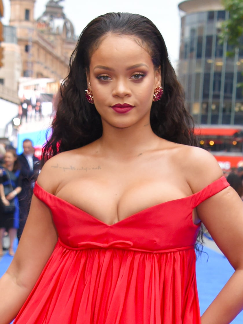 In 'Duh' News, Rihanna Styled a Bathing Suit Coverup With Fur and Diamonds