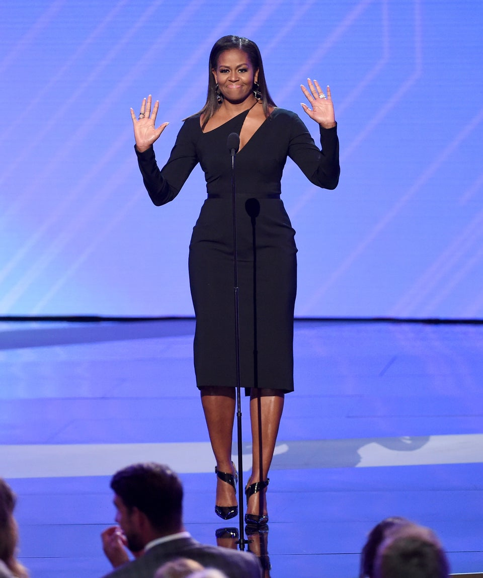 Michelle Obama ShowedUp At The 2017 ESPY Awards And LookedLike A Total Goddess, Obvi