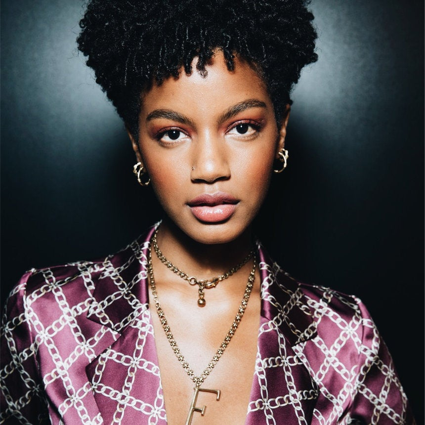 Model Ebonee Davis Talks Beauty Must-Haves & Why Natural Hair Is Her Form Of Resistance