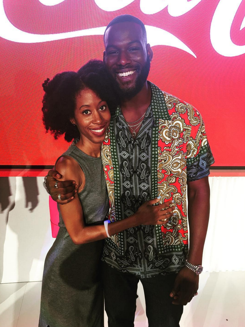 Get Ready to Be Jealous! Kofi Siriboe Gave Out A Lot Of Hugs and Kisses At ESSENCE Fest
